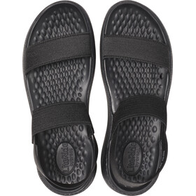 Crocs LiteRide Sandals Damen black/black
